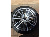 Bmw genuine 403m m sport alloy wheels