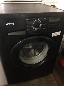 LOOK !!! BLACK SMEG WASHER - EXCELLENT BRAND - NOW ONLY £120