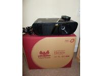 ViewSonic LightStream PJD5555W HD Projector (3300 Lumens, HDMI) - Black