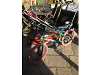 B M X bike