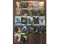 22 Xbox 360 games for sale