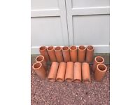 CLAY drainage pipes - bargain