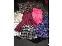 Girls dresses 10-11 years