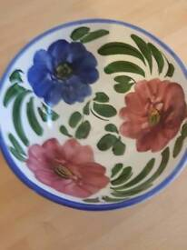 Flower bowl immaculate condition
