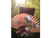 Very large Japanese fan