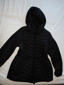 H&M Maternity Coat, black, size M