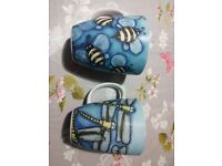 6 Porcelain Mugs: 5x Menagerie Living Illustrated by Libby Sheppard & 1x Raj Living Art