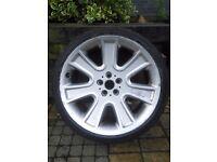 RH Alurad Naj20x10 wheels with m+s tyres 5x112 Audi Mercedes £550