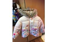 New 1-2yrs coat