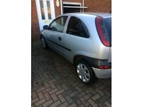 VAUXHALL 1.2 CORSA 2002 MOT TILL OCT 2018 TINTED REAR WINDOWS & ALLOY WHEELS EXCELLENT RUNNER