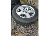 "5 Stud 14"" Skoda Alloy Wheels"