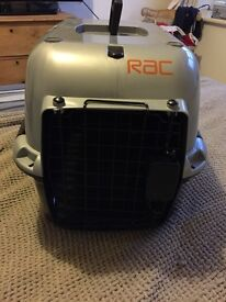 RAC approved dog or cat carrier
