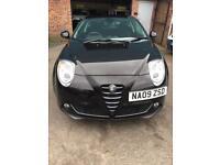 2009/09 Reg Alfa Romeo Mito 1.4 Petrol 3dr FSH 3 Month Warranty £2350