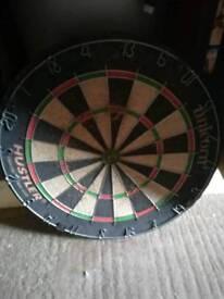 Hustler dart board