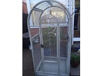 Rainforest Chile Parrot bird cage with blackout cover