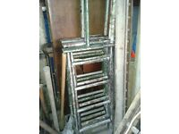 Heavy duty 7 Sectional ladder fits in a boot,4.7 Metres