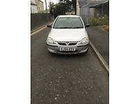 1.2 corsa silver semi automatic great car