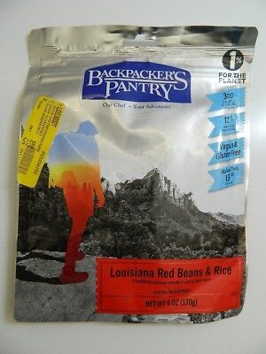 (Backpacker's PANTRY EMERGENCY VEGAN Louisiana Red Beans and Rice Exp 07/07//2023)