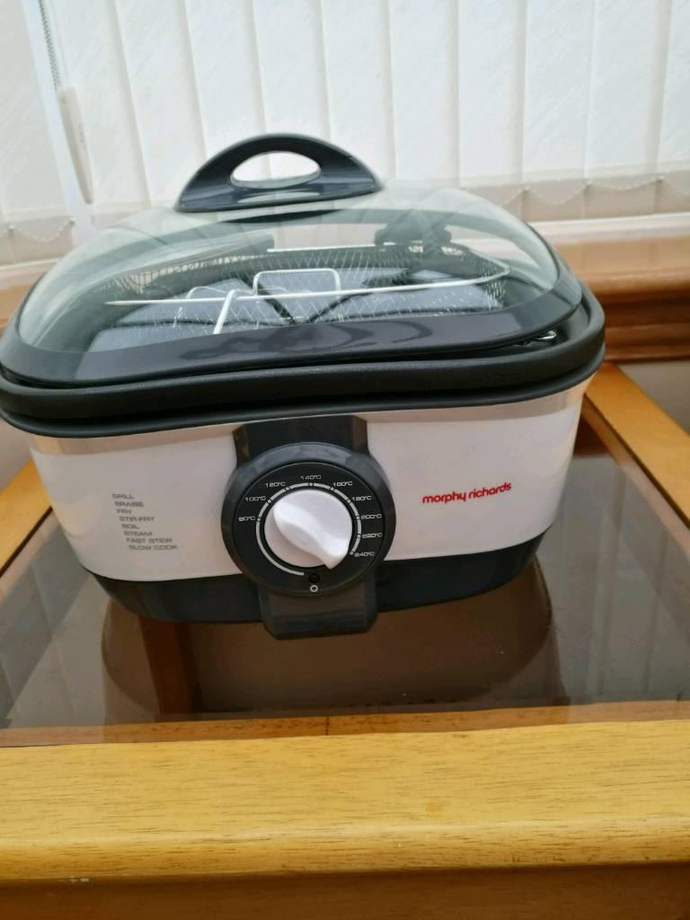 5 L Morphy Richards 48615 Intellichef Multicooker 1.5 KW White