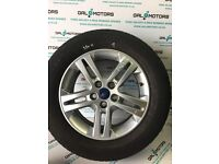FORD GALAXY MK3 2010-2015 ALLOY WHEEL R16 WITH 3.8 MM TYRE DY63-1