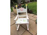Kids rocking chair made by teamson