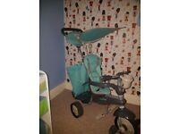 Turquoise Smart Trike