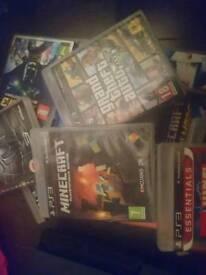 Ps3 games gta V, Minecraft