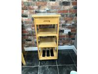 Butchers block/ kitchen trolley/ storage