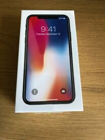 iPhon x 64GB Space Grey EE network BRAND NEW SEALED