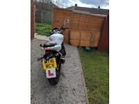 Hyosung 125cc learner road manual bike motorbike