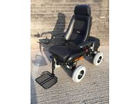 Fully Refurbished Chasswheel Four X All Terrain Electric Wheelchair