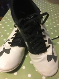 Under Armour indoor football trainers