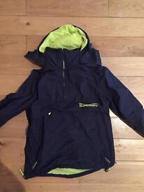 Superdry windcagoule pullover size small