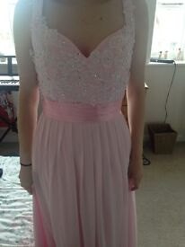 Brand new, pink prom dress