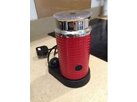 Nespresso machine and milk frother for sale
