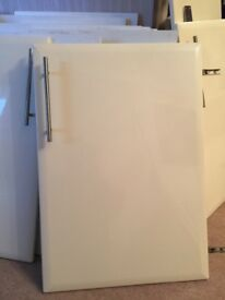 Cream kitchen cupboard doors