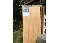 Packaged oak door