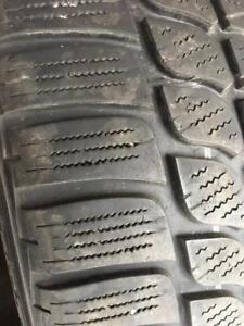 2 pneus 265/35/19 Bridgestone blizzak LM-25.    6-7/32