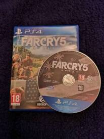 Far Cry 5 - PS4 immaculate condition