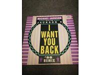 Michael Jackson I want you back vinyl