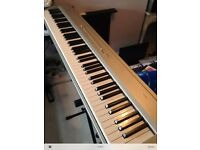 Korg SP200 Stage Piano Silver Electric Limited edition SP-200 88 Weighted Keys + Stand + Pedal