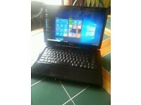 Laptop with windows 10