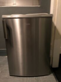 Nearly New AEG Stainless Steel Fridge Perfect Condition