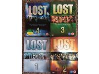 Lost Series 1-4 in Exceptional Condition