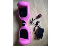 Barbie pink Bluetooth segway