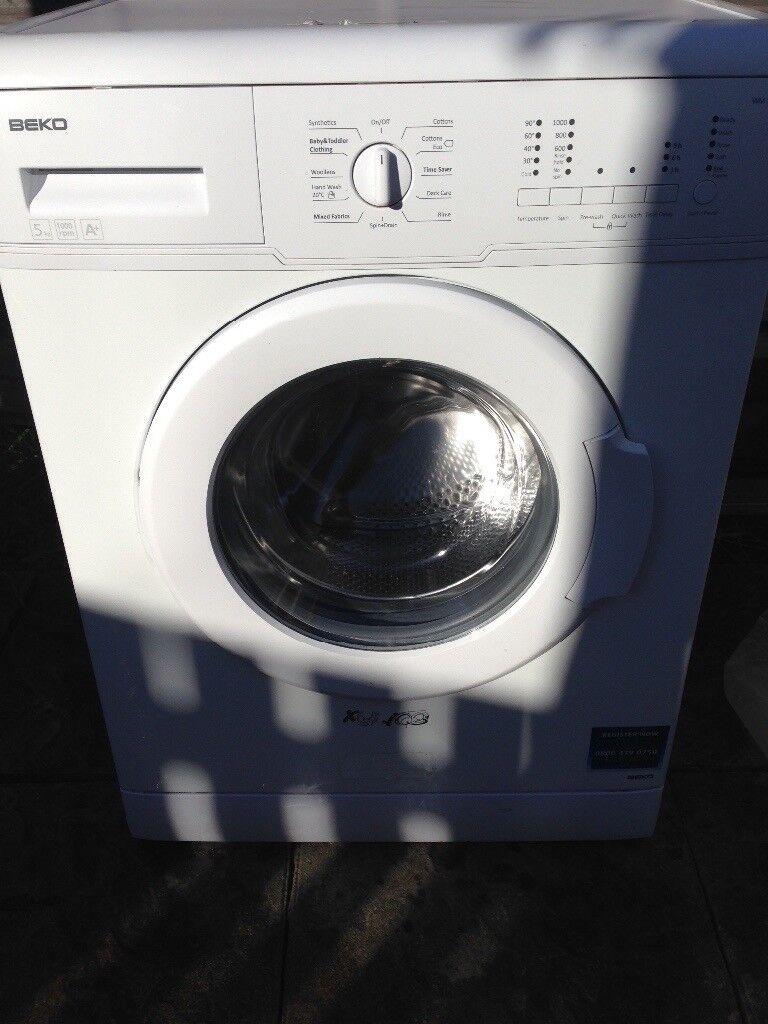 Beko washing mashing not old