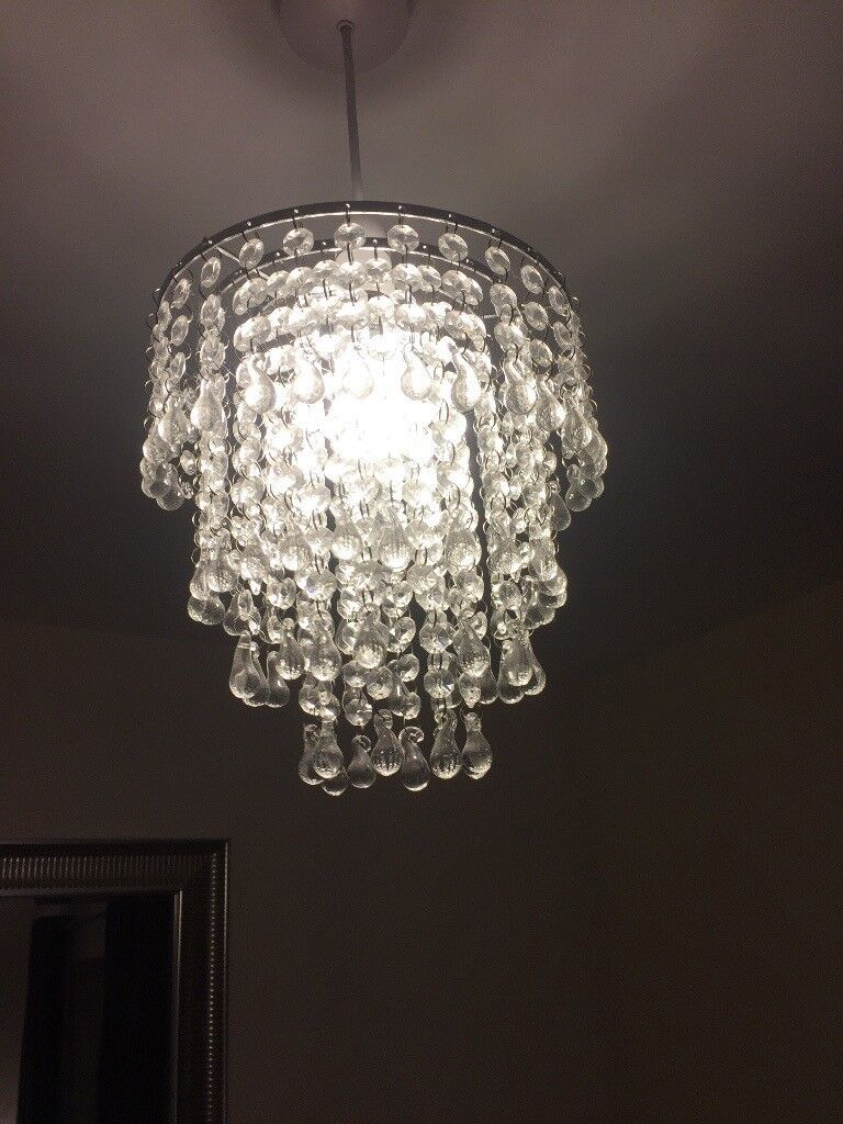 Crystal effect light shade | in Didcot, Oxfordshire | Gumtree