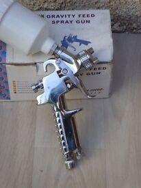 Small spray gun
