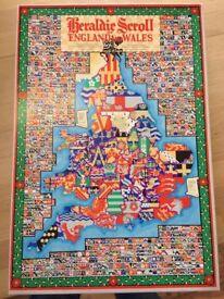 2000 Piece Puzzle - Heraldic Scroll