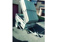 ERDA 158 Daxara Trailer with Canopy in Excellent Condition